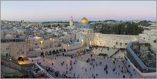 Gallery print  Jerusalem with Wailing Wall  - Gavin Hellier