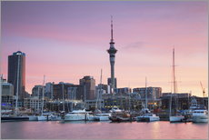 Gallery print  Viaduct Harbour and Sky Tower, Auckland - Ian Trower
