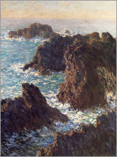 Wall sticker  The Rocks of Belle-Ile - Claude Monet