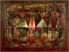 Wall sticker  Nocturnal Festivities - Paul Klee