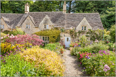 Wall sticker  Romantic Cottage garden in the Cotswolds (England) - Christian Müringer
