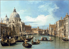 Wall sticker  Entrance to the Canal Venice - Bernardo Bellotto (Canaletto)