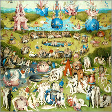Gallery print  The Garden of Earthly Delights - Hieronymus Bosch