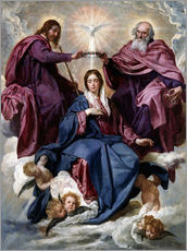 Gallery print  Coronation of the Virgin - Diego Rodriguez de Silva y Velazquez