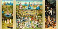 Wall sticker  The garden of earthly delights - Hieronymus Bosch