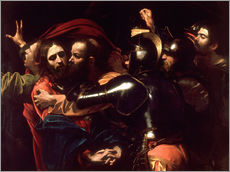 Gallery print  Arrest of Christ - Michelangelo Merisi (Caravaggio)
