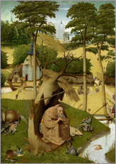 Gallery print  The temptation of St.. Antonius - Hieronymus Bosch