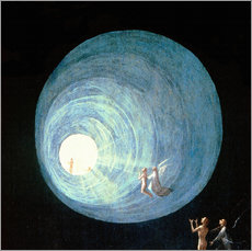 Gallery print  The Ascent to the Heavenly Paradise (detail) - Hieronymus Bosch