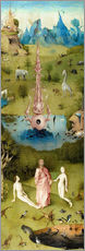 Wall sticker Garden of Earthly Delights, the paradise