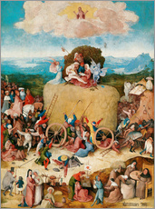 Wall sticker  The Hay Wain - Hieronymus Bosch