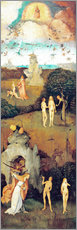 Wall sticker  Emergence of evil and the loss of paradise - Hieronymus Bosch