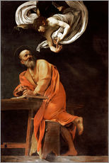 Wall sticker  The Inspiration of St. Matthew - Michelangelo Merisi (Caravaggio)