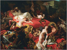 Wall sticker  The Death of Sardanapalus - Eugene Delacroix