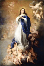 Gallery print  Immaculate Conception of Mary - Bartolome Esteban Murillo