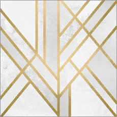 Wall sticker  Art deco geometry - Elisabeth Fredriksson