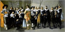 Gallery print  Protect from the neighborhood XI under command of Captain Reynier Reae - Frans Hals