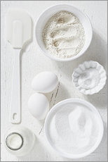 Gallery print  Country home baking ingredients - K&L Food Style