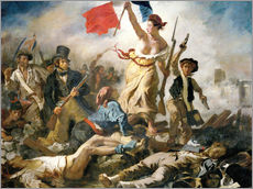 Gallery print  Liberty leading the people - Eugene Delacroix