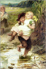 Gallery print  The young gallant - Frederick Morgan