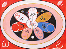 Canvas print  Evolution, No. 15 - Hilma af Klint