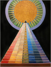 Wood print  No. 1, Altarpiece - Hilma af Klint