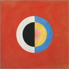 Wall Stickers  The swan, no. 17 - Hilma af Klint