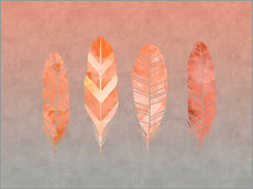 Wall sticker  Feathers - Andrea Haase