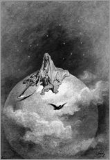 Wall sticker  The Raven - Gustave Doré