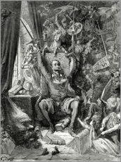 Gallery print  Don Quixote, a world of disorder - Gustave Doré