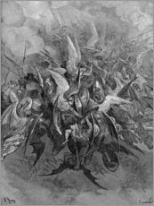 Gallery print  War in Heaven - Gustave Doré