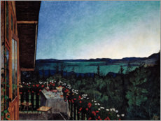 Gallery print  Summer night - Harald Oscar Sohlberg