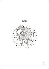 Wall sticker  Zodiac Aries - Petit Griffin