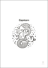 Wall sticker  Zodiac Capricorn - Petit Griffin