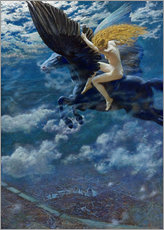 Wall sticker  Dream Idyll - Edward Robert Hughes
