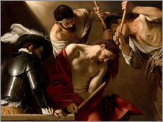 Wall sticker  The Crowning with Thorns - Michelangelo Merisi (Caravaggio)