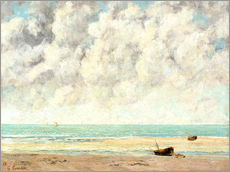 Gallery print  Calm lake - Gustave Courbet