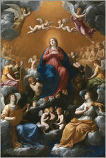 Gallery print  Coronation of the Virgin - Guido Reni