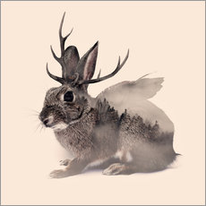 Wall sticker wolpertinger