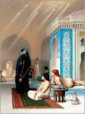 Wall sticker  Bath in the harem - Jean Leon Gerome