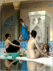 Wall sticker  After the bath - Jean Leon Gerome