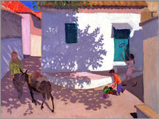 Gallery print  Green Door and Shadows, Lesbos, 1996 - Andrew Macara