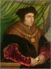Gallery print  Portrait of Sir Thomas More - Hans Holbein d.J.