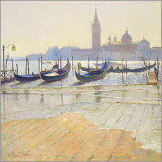 Wall Stickers  Venice at Dawn - Timothy Easton