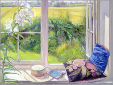 Gallery print  Reading window seat - Timothy Easton
