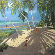 Wall sticker  Palm trees, Clovelly beach, Barbados - Andrew Macara