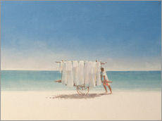 Wall sticker  Cuban beach seller, 2010 - Lincoln Seligman