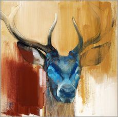 Mark Adlington - Head of a deer