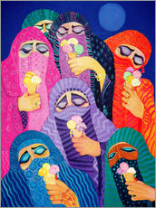 Gallery print  The impossible dream, 1989 - Laila Shawa