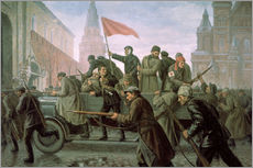 Wall sticker  The Taking of the Moscow Kremlin in 1917 - Konstantin Ivanovich Maximov