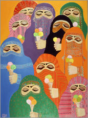 Wall sticker  The Impossible Dream, 1988 - Laila Shawa